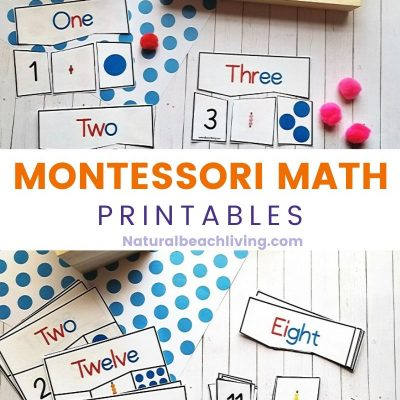 Montessori Math Activities for Preschool and Kindergarten