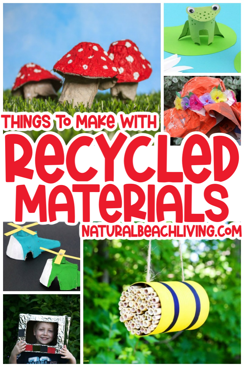 38+ Recycled Materials Projects for Kids
