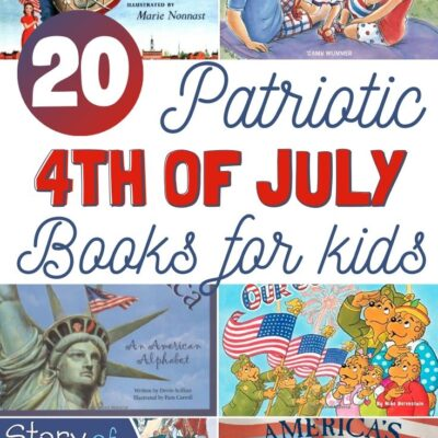 20+ 4th of July Books for Kids – Patriotic Books