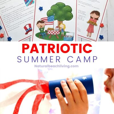 Patriotic Summer Camp at Home