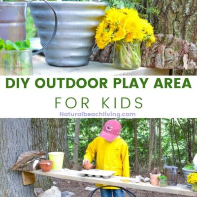 DIY Outdoor Play Area for Kids