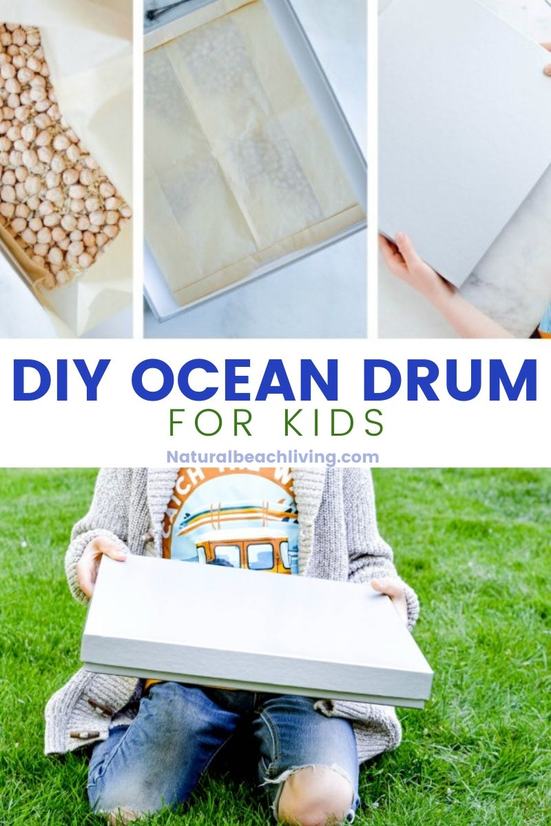 DIY Ocean Drum Craft for Kids