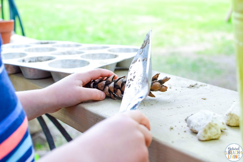 How to create an Easy DIY Backyard Play Area on a budget that is lots of fun without the costs. This DIY science table and mud kitchen is perfect for outdoor STEM Projects and kids play spaces, learn how to use recycled materials for play, and exploring. Let's create a natural play space for kids that they LOVE.