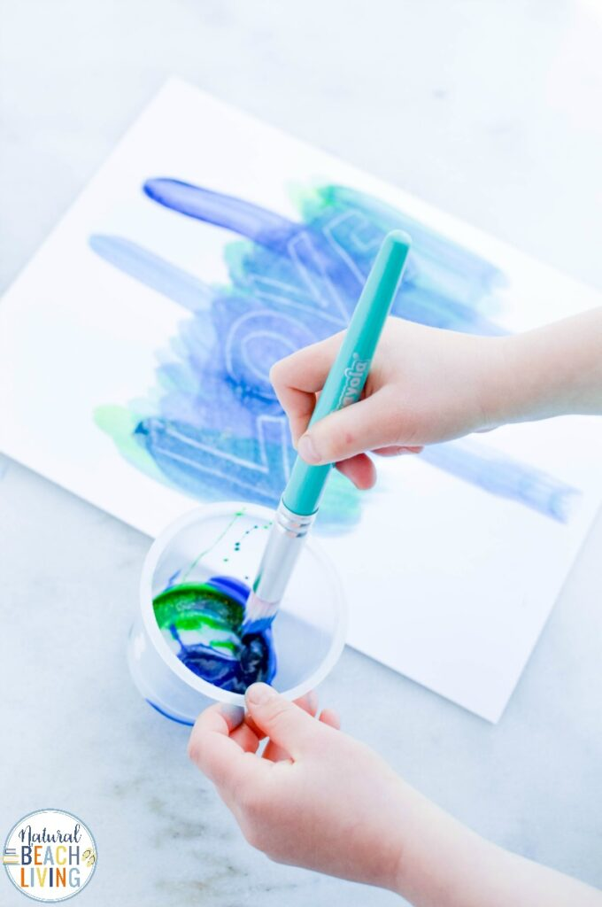 Most kids are fascinated by the idea of sending secret messages and Spy Activities. Writing with invisible ink is magical! Invisible Painting for Kids is priceless and brings history, art, and writing into one awesome activity. Invisible ink with crayon resist is easy and exciting for kids.