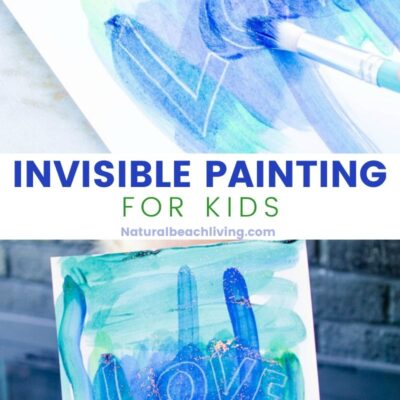Invisible Painting for Kids – Science and Art Secret Messages
