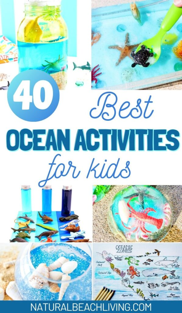 This Free Printable Ocean Activity Pack is so much fun for early learners! Engage your preschoolers and young children with an exciting summer theme full of hands-on learning with these free preschool printables.