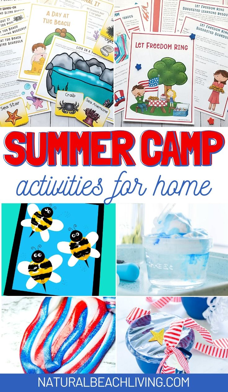 100+ Best Summer Camp at Home Ideas and Activities