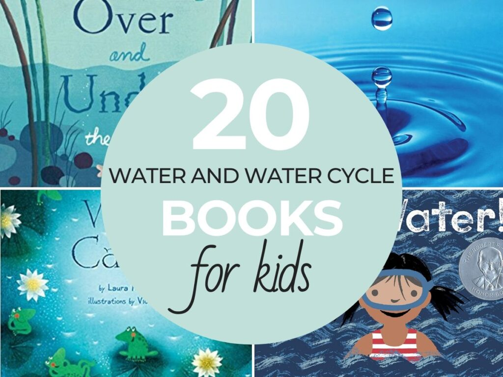 Are you looking for great Water Books for kids and books on the Water Cycle? If you're excited about the topic of water or teaching about The Water Cycle, there are so many great resources and Books about Water here.