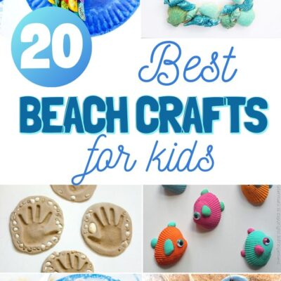 20+ Best Beach Themed Crafts for Kids
