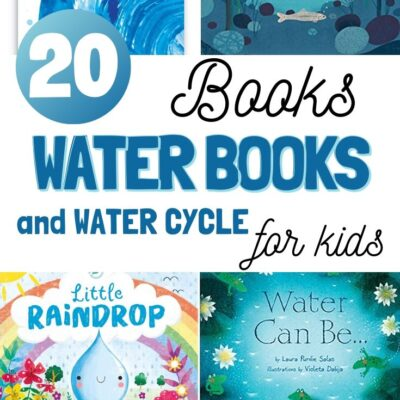 20+ Water Books for Kids and Water Cycle Books