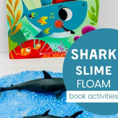 Shark Slime Recipe Baby Shark Activities