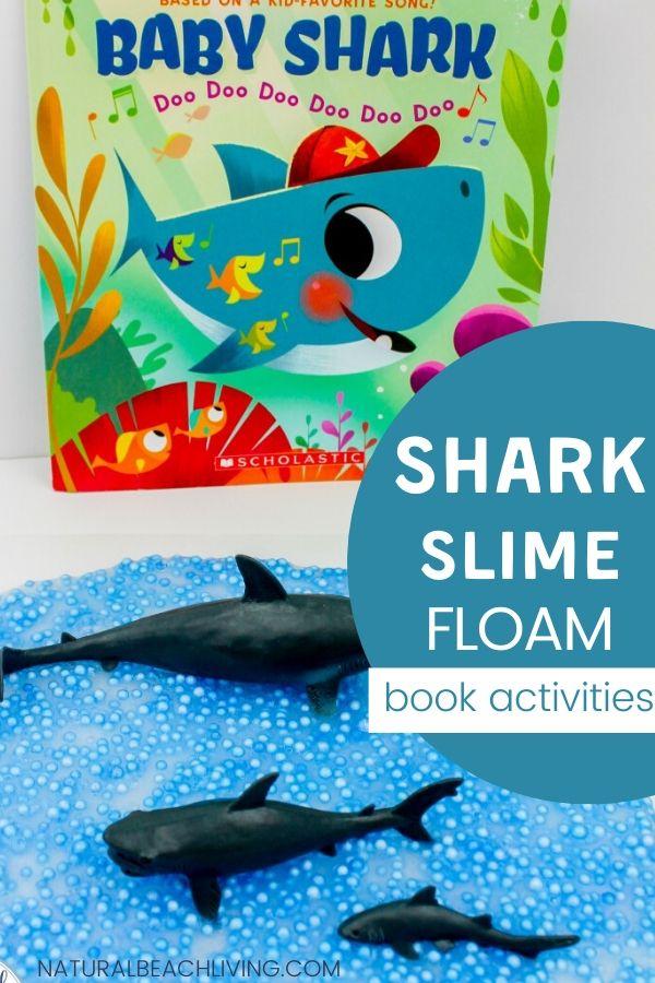 Shark Slime Recipe Baby Shark Activities