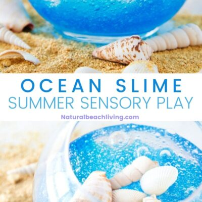 Ocean Slime for Kids – The Best Clear Slime Recipe