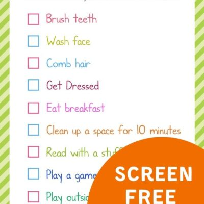 Summer Rules for Kids – Screen Free Activities for Summer