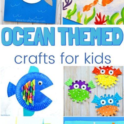 25+ Under the Sea Crafts for Kids – Ocean Themed Crafts