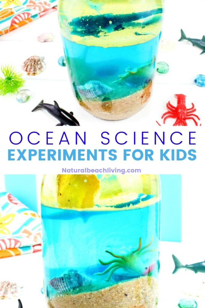 Do this simple Ocean water experiment to teach kids about density. It's a perfect kitchen science experiment or outdoor science activity that works for an ocean unit. The perfect STEM activity for kids