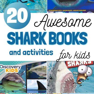 20+ Shark Books for Kids