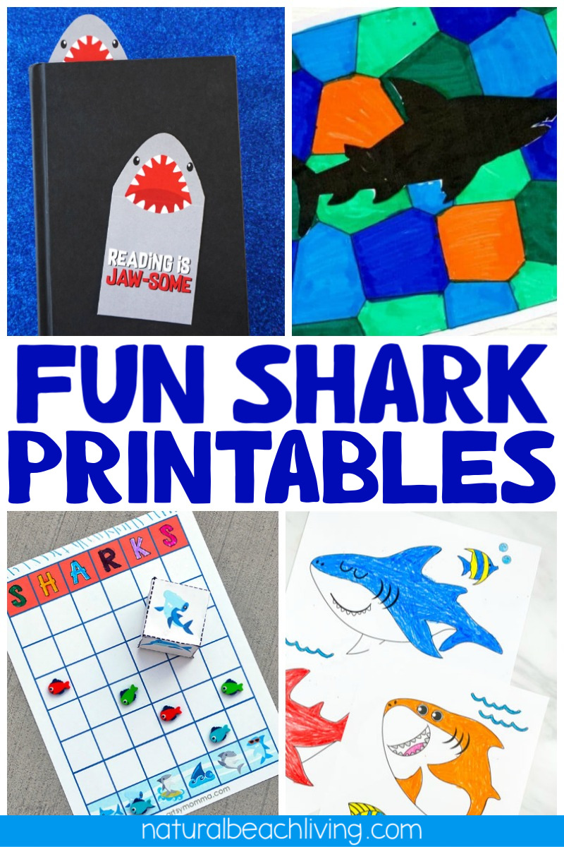 33+ Best Shark Printables, Templates, and Activities