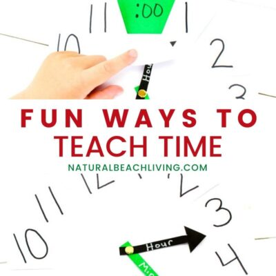 How to Make a Clock to Teach Time