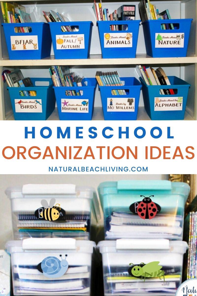 The Best Homeschool Organization Ideas That Work for Everyone