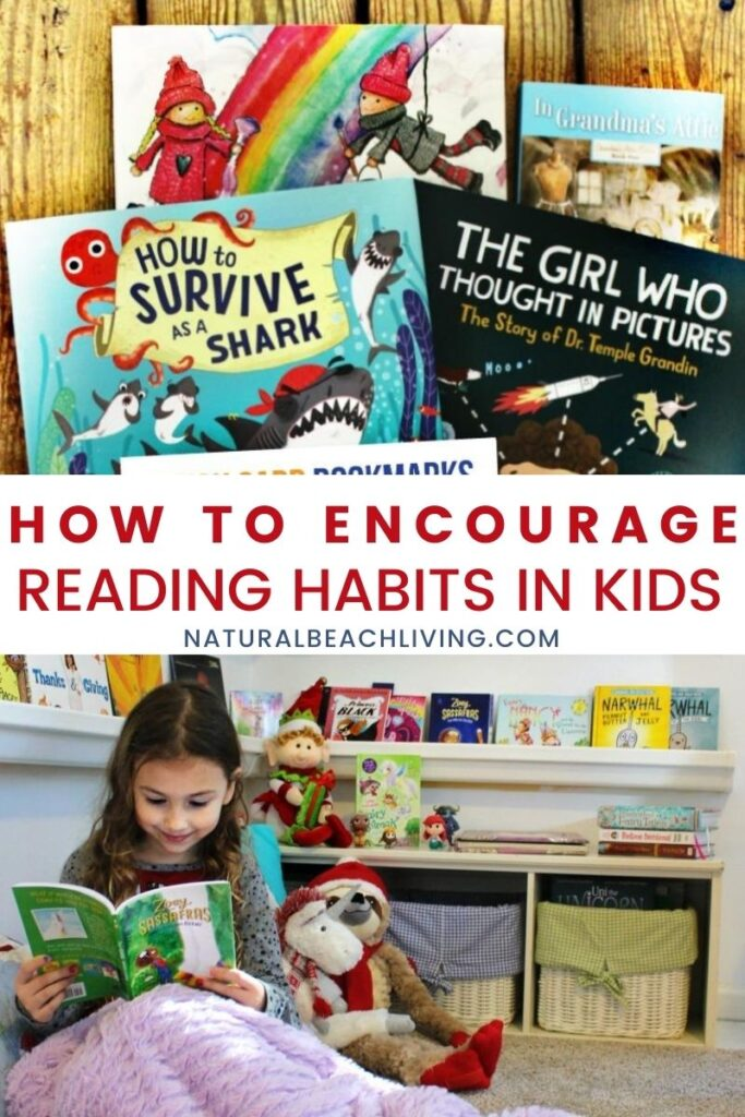 You'll love these tips on How to Encourage Reading Habits in Kids. Get your child interested in reading with Reading challenges, book activities, an easy reading nook, and so much more. Your children will develop a love for reading in no time.