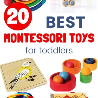 20+ Best Montessori Toys for Toddlers
