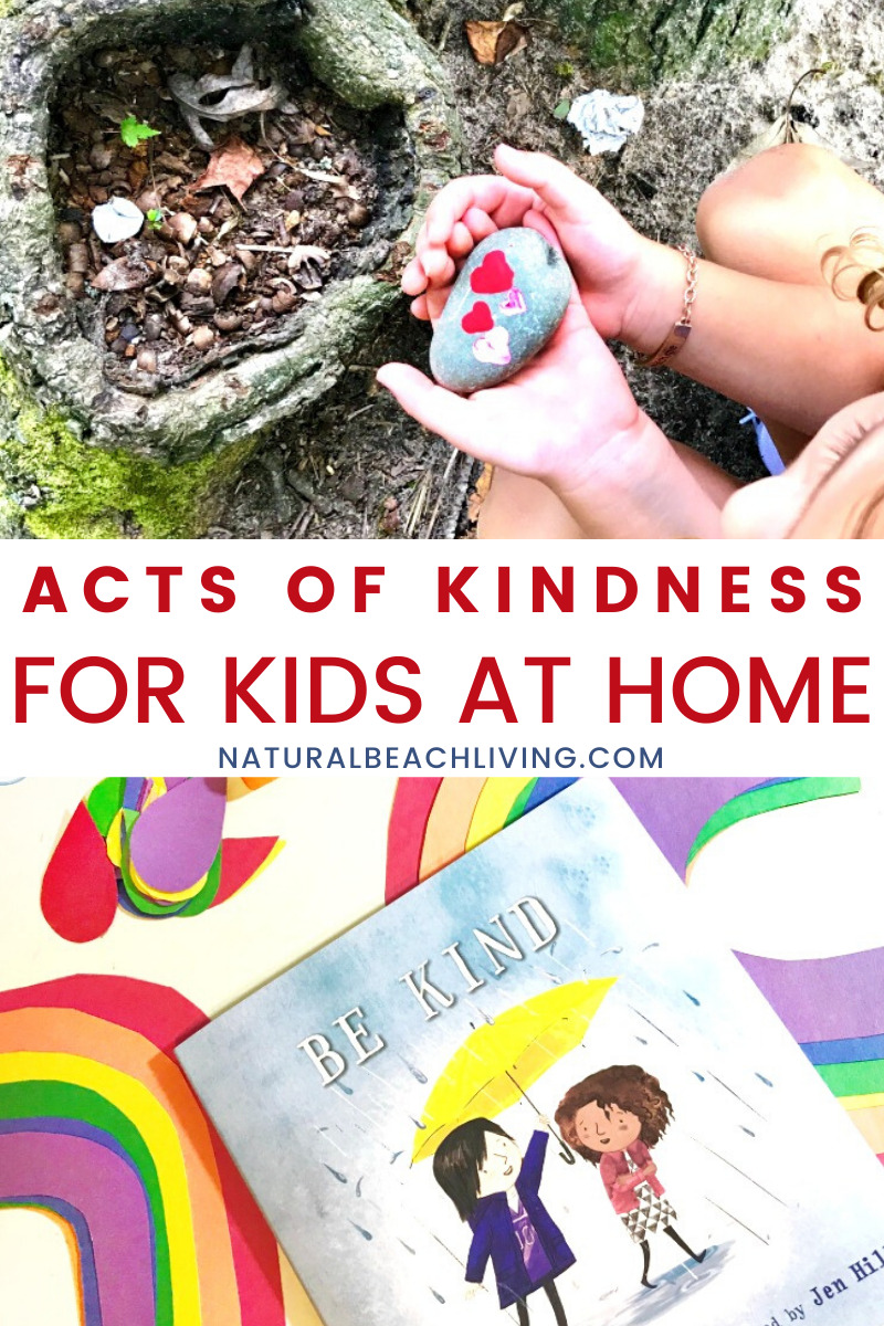 Random Acts of Kindness Ideas at Home – Encouraging Kindness in Kids