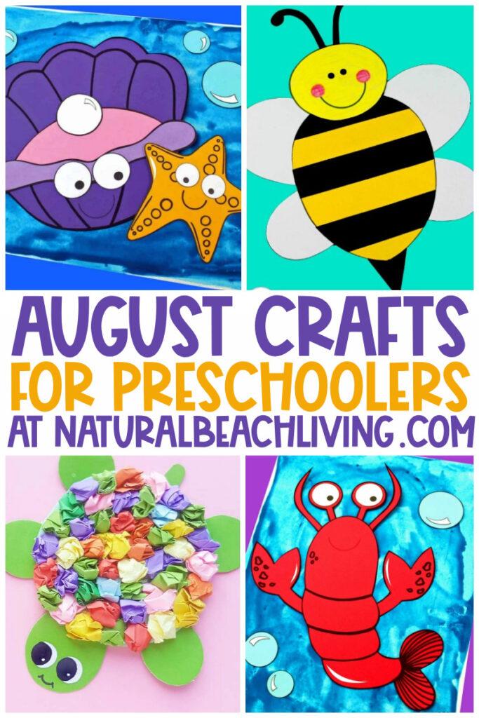 40+ August Preschool Crafts - Summer Art and Craft ...