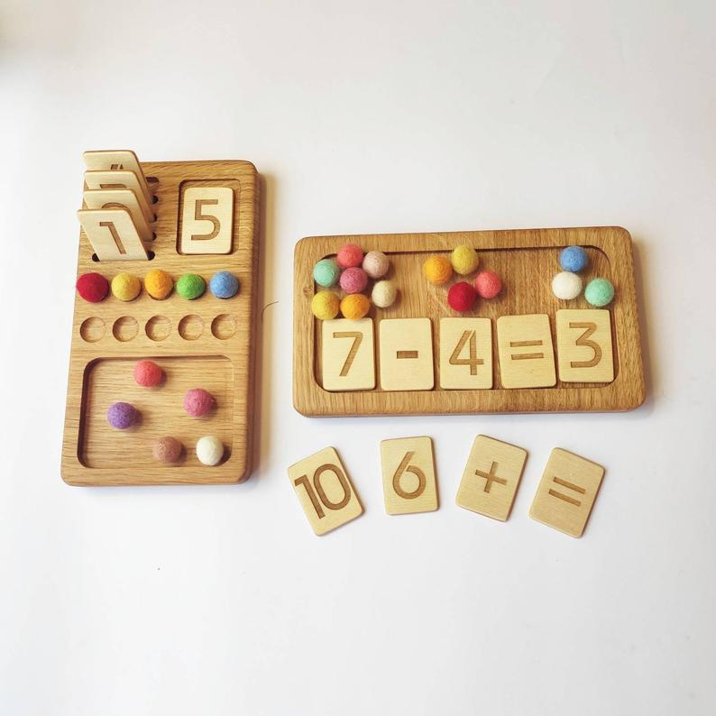 Montessori Math and Waldorf Math Materials, Montessori Mathematics and education activities for preschoolers