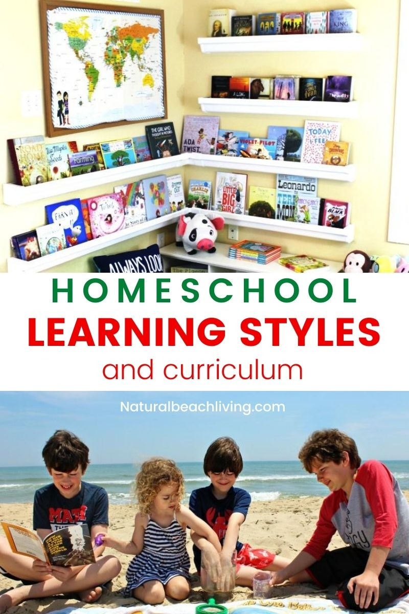 Homeschooling Different Learning Styles and Homeschool Curriculum