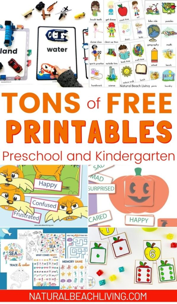 Are you looking for free printable activities for kids? These math, science, and literacy printables cover a variety of skills, themes,  and levels of ability. All of your preschool printables and activities can be found here.