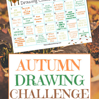 Fall Drawing Challenge and Free Drawing Prompts for Kids