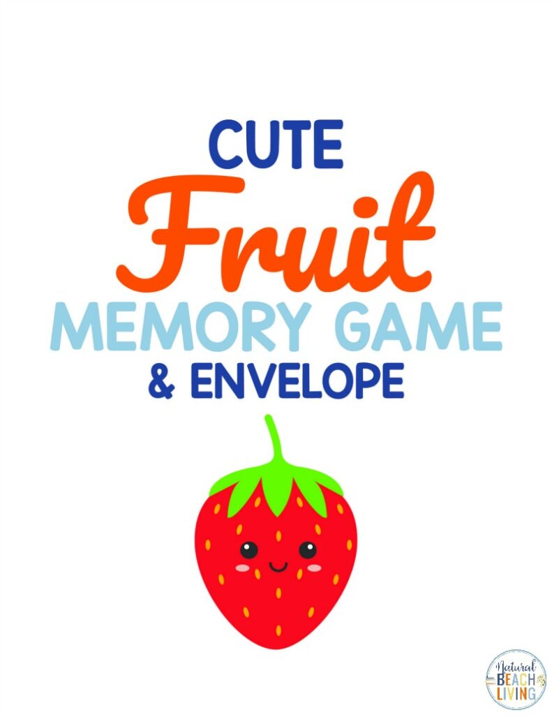 This Fruit Matching Game Printable is a fun activity to add to any health or nutrition theme, Enjoy Healthy eating lesson plans with these printable fruit cards and nutrition activities for preschoolers! Health Activities for Kids and Printable Worksheets for Nutrition