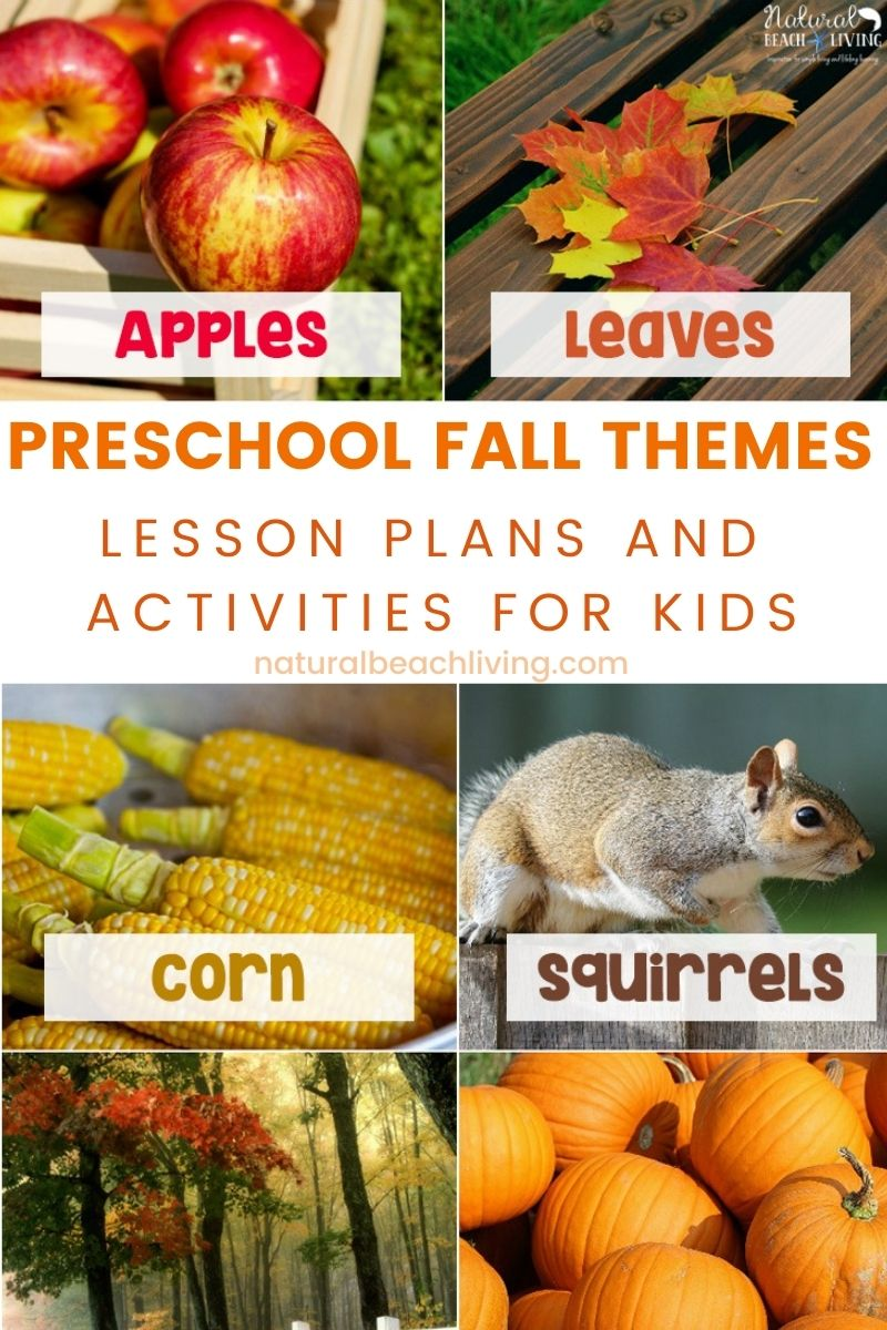 40+ Best Fall Preschool Themes and Activities