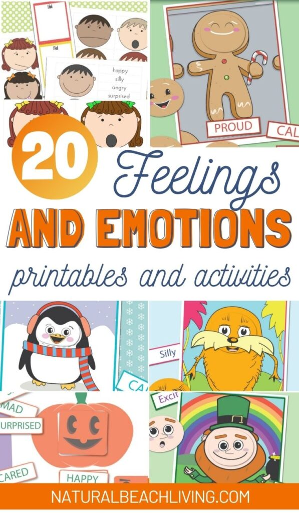 Preschool Emotions Printables and Feelings Cards, preschool emotions printables, Helping children to express their feelings and handle difficult situations with calmness. preschool feelings printables, emotion cards printable for teaching children about their emotions and feelings