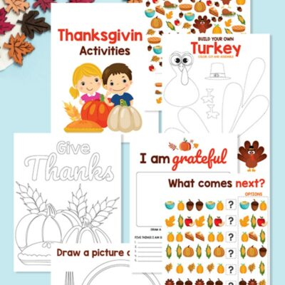 Thanksgiving Activities for Kids – Fun and Free Printable Activities