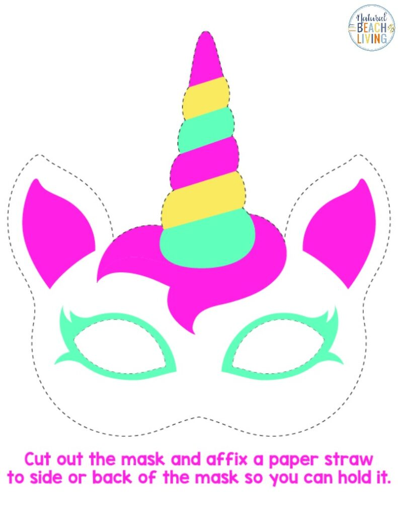 Unicorn Activities and Free Unicorn Printables, Perfect for a Unicorn Birthday Party. Have fun with a Unicorn Scavenger Hunt, Free Printable Unicorn Mask, Unicorn Art and fun ideas for a Unicorn Theme.