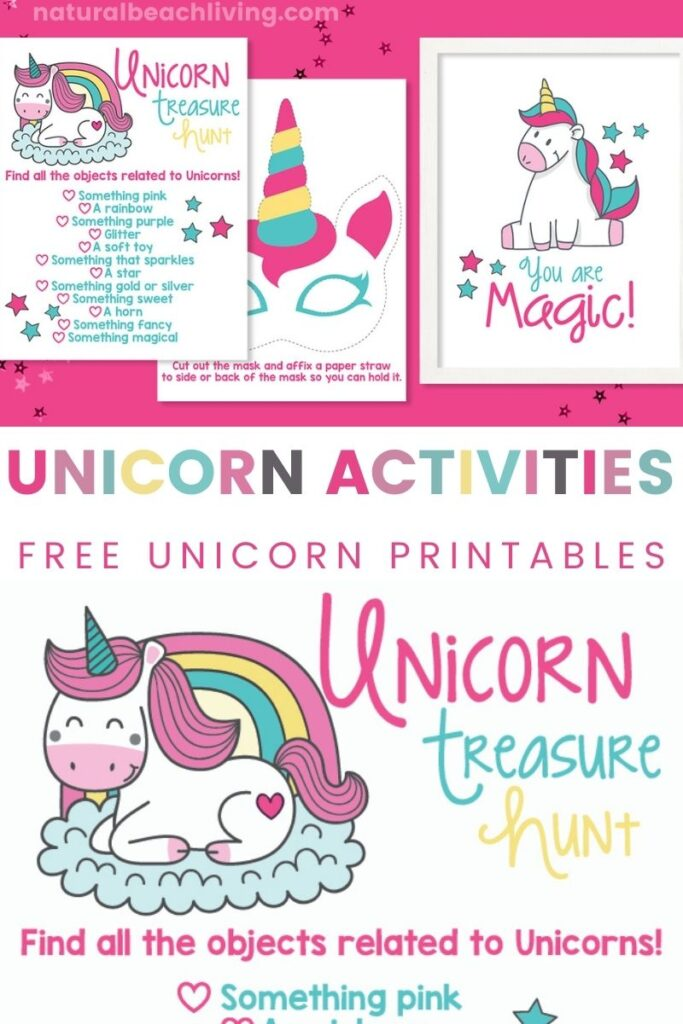 80+ Unicorn Activities including Unicorn Crafts, Unicorn Printables and Unicorn Party Ideas, You'll also find lots of ideas for a Unicorn Theme, Hands on activities for preschoolers, kindergarten and fun ideas pre-teens. Unicorn Printables for Kids and Unicorn Goodie Bag Ideas with free Unicorn Treat Bags and Unicorn Slime!