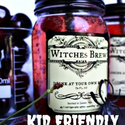 Witches Brew Recipe Halloween Drink for Kids and Adults