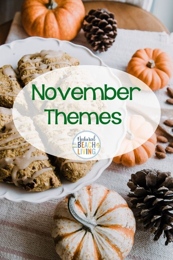 November Themes, ideas, November Holiday's, November Preschool Themes, Kindness Calendar filled with activities and fun for November