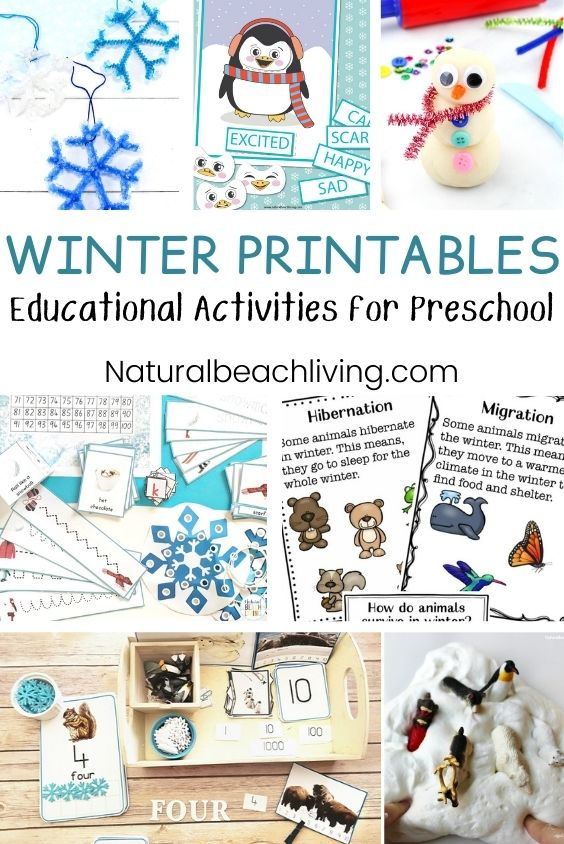 35+ Best Winter Preschool Themes, Preschool lesson plans, Preschool activities, and winter Preschool printables. Perfect for weekly or monthly themed learning and winter unit studies. You'll find Preschool book lists, preschool activities, Winter art and crafts for kids. Winter themes for preschool which include winter animals, winter science, STEM ideas, Slime recipes and more.