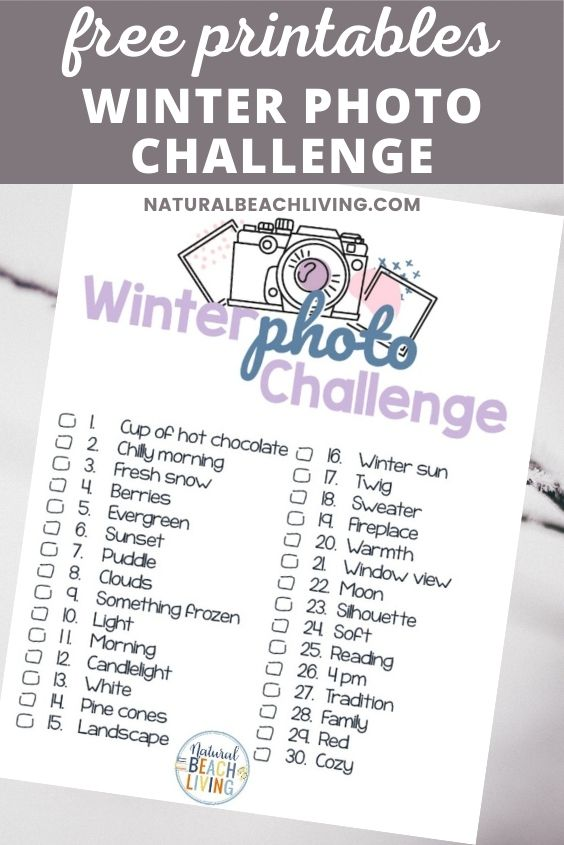 Try this Winter Photo Challenge to add extra creativity and holiday inspiration to your days this Winter season. A 30 Day Winter Challenge you can do with your kids or a fun photo challenge for Instagram. A whole season's worth of ideas means 30 Winter and Christmas photo ideas plus tips for great winter picture ideas.