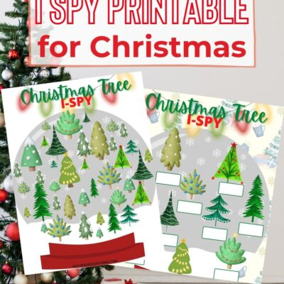 Free Printable Christmas I Spy Printables