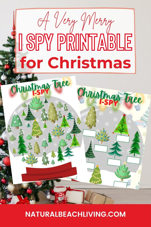 Free Printable Christmas I Spy Printables