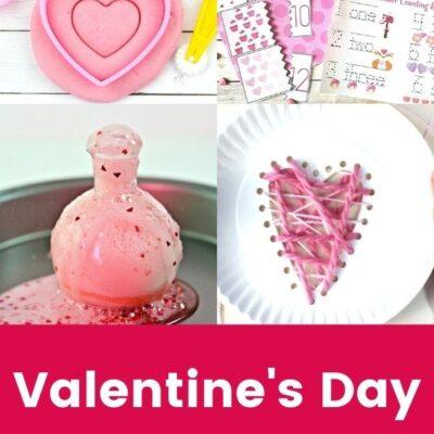 Valentines Day Preschool Theme Activities