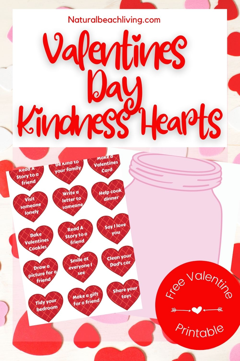 Kindness Hearts Activities and Kindness Printables