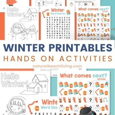 Free Winter Printables for Preschool and Kindergarten
