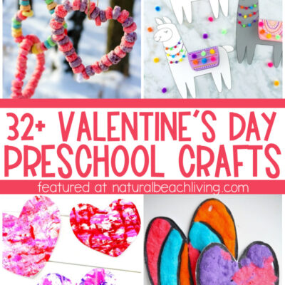 35+ Valentines Preschool Crafts – Easy Art and Craft Ideas