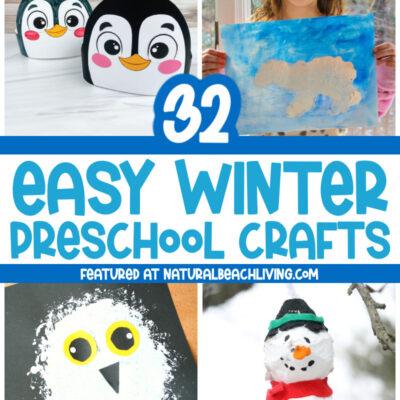 35 Winter Preschool Crafts – Fun Art and Craft Ideas