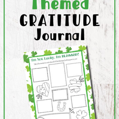 Gratitude Activity for St Patrick's Day – Free Printable